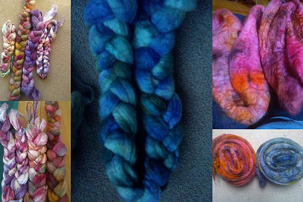 Hand dyed braids