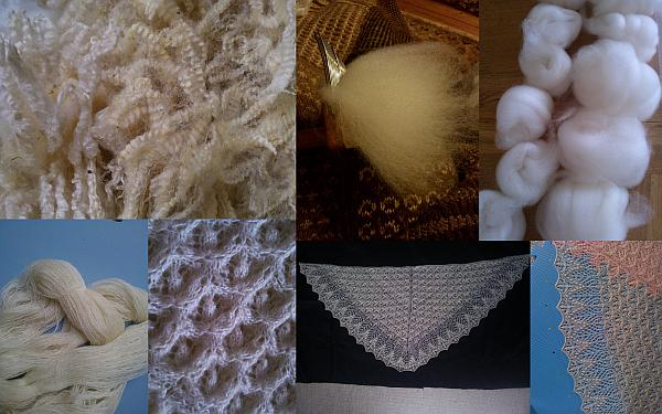fine fibres for lace knitting